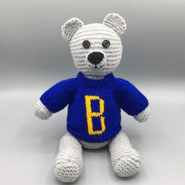 Handknitted Birdham Bear